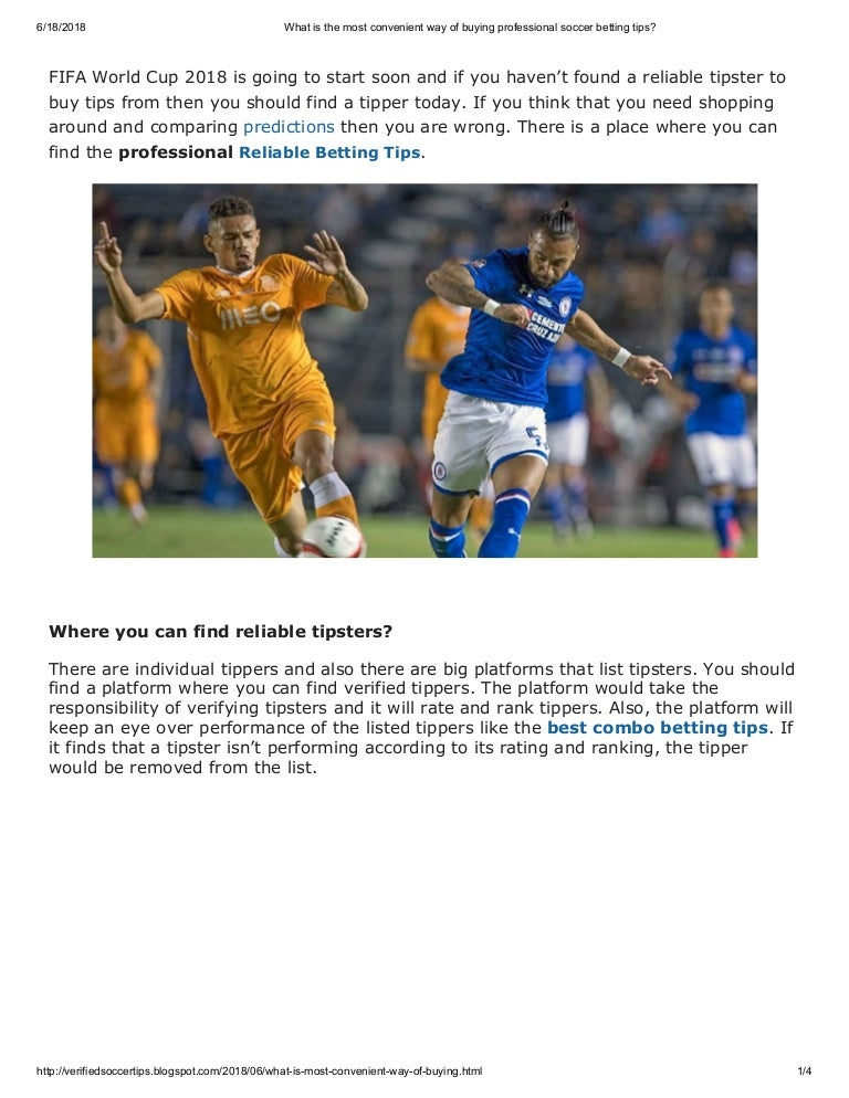 Professional football betting tipstersplace inwestycje w bitcoins