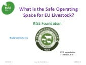 What is the safe operating space for eu livestock - Allan Buckwell