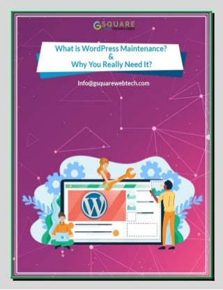 What is WordPress Maintenance? And Why You Really Need It?