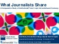 What Journalists Share: A Comparative Study of the National Press Corps in Australia and Germany