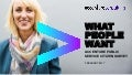 What People Want: Accenture Public Service Citizen Survey