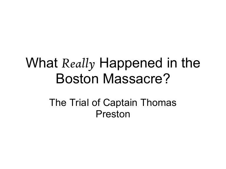 was the boston massacre really a massacre