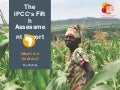 What's in it for Africa? Key findings from the IPCC's Fifth Assessment Report
