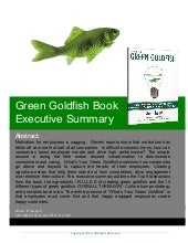 Green Goldfish Book Executive Summary
