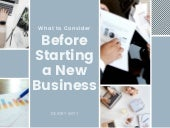 What to Consider Before Starting a New Business | Destry Witt