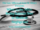What to Do After Being Injured Due to Medical Negligence