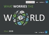 What worries the world - Mars 2019