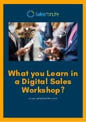 What you learn in a digital sales workshop