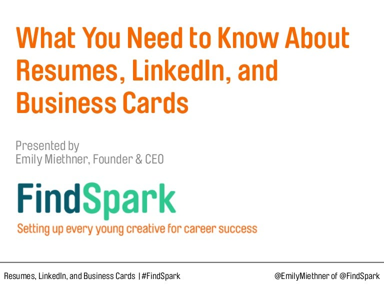 What you need to know about resumes linkedin and business cards reheart Choice Image