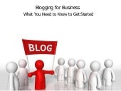 What You Need to Know to Start a Business Blog