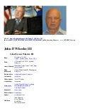 JOHN PARSONS WHEELER III - Appears Death May Be HOMICIDE By United States Government Officials