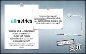 When will librarians start research support with altmetrics to their researchers?