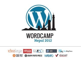 When to use WordPress MultiSite WordCamp Nepal 2012
