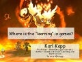 Where is the learning in games2