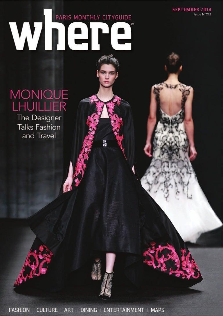 186290dad82ce2 Magazine Where Paris n°248