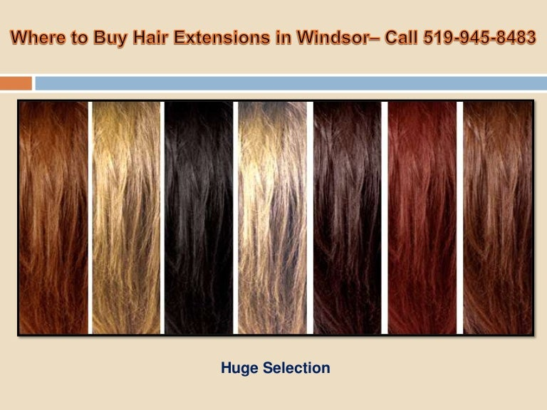 Where To Buy Hair Extensions In Windsor