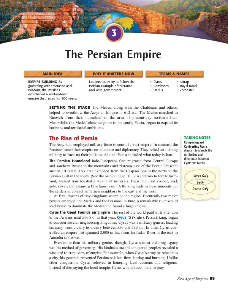 World History Chapter 60 Section 60 The Persian Empire Delectable World History Patterns Of Interaction Answers