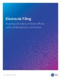 Electronic Filing: Aligning Secretary of State offices with contemporary commerce
