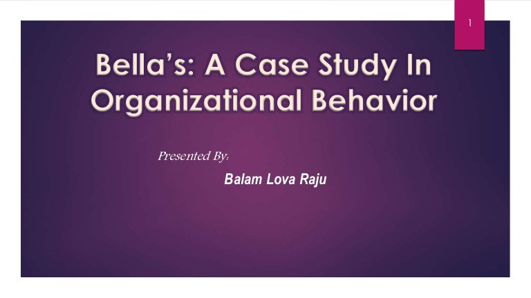 case study answers organizational behavior Organizational behavior fahad umar abstract: the paper contains a detail analysis of organizational behavior discussing issues facing cutting age organizations on leadership behavior, organizational effectiveness, organizational structures and human resource management.