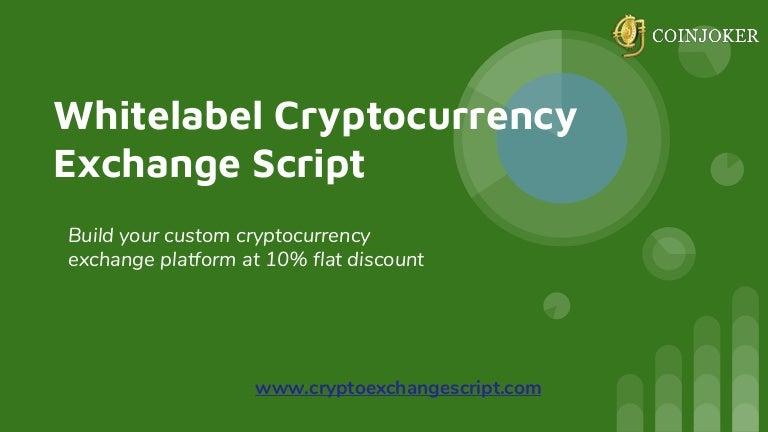 crypto exchange whitelabel