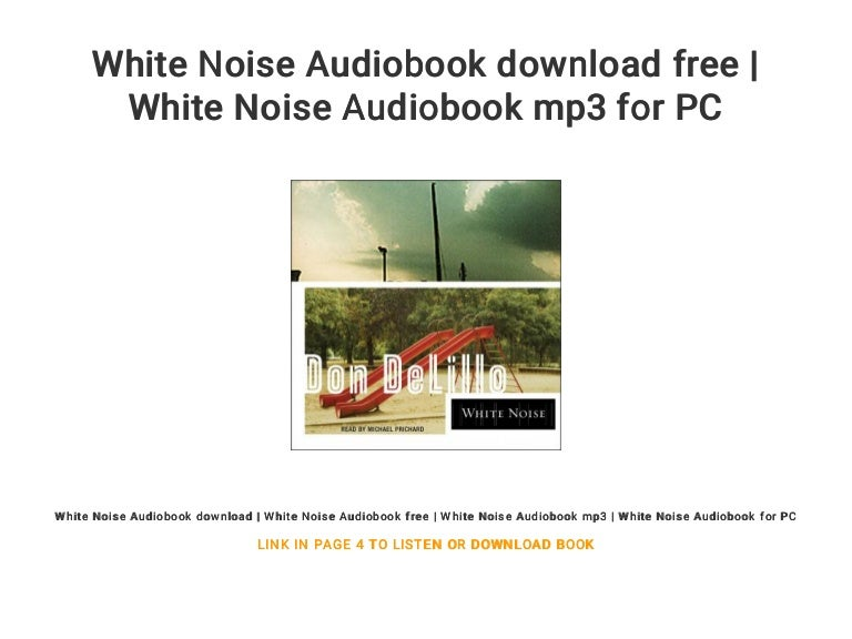 Mp3 Category - White Noise Market