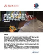 SOLIDWORKS Premium Streamlines the Product Development Process
