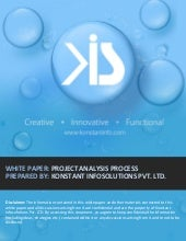 Whitepaper - Project Analysis Process at Konstant