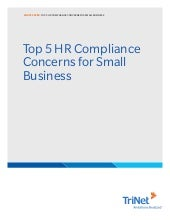 White paper  top 5 hr compliance concerns for small business