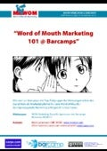 Whitepaper Word of Mouth Marketing Tipps für Sponsoren @ Barcamps