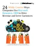 White paper 24 wildly creative ways companies use microsoft dynamics crm