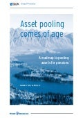 Asset Pooling Comes of Age