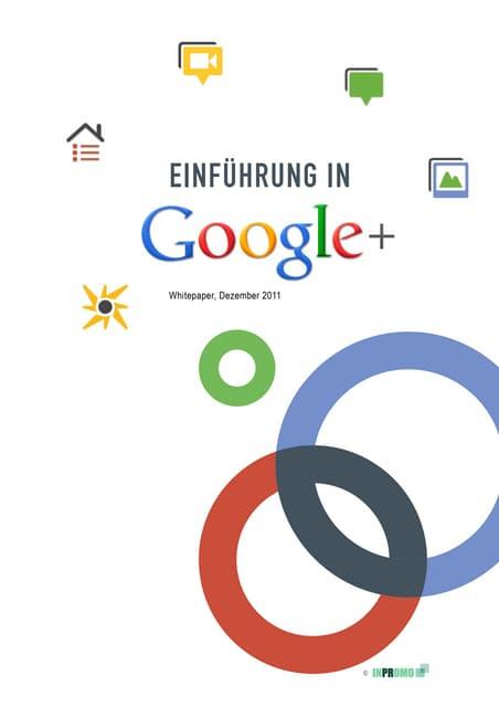 INPROMO Whitepaper: Einführung in Google+ (12/11)