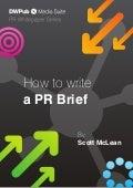 [Whitepaper] How to write a PR Brief?