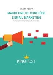 [White Paper] Marketing de contéudo e email marketing