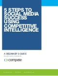 5 Steps to Social Media Success Using Competitive Intelligence