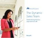 The Dynamics Sales Team