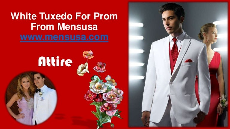 tuxedo for prom from MensUSA
