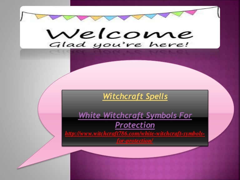 White Witchcraft Symbols For Protection