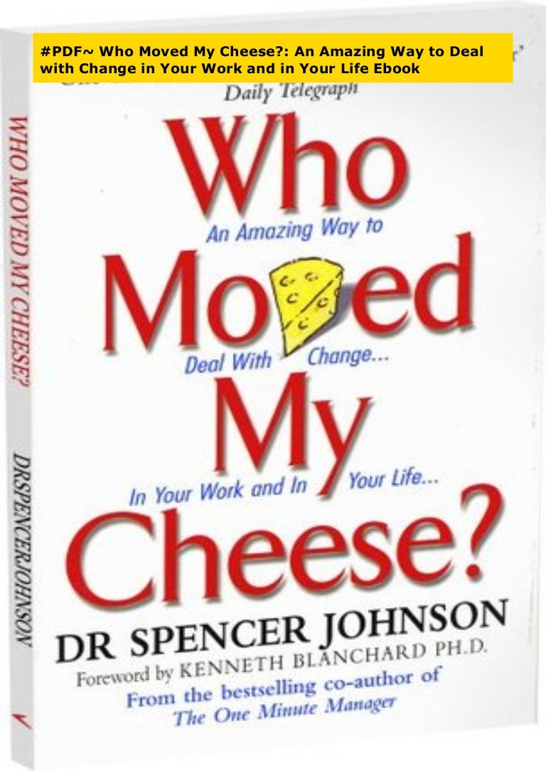 who stole my cheese pdf free download