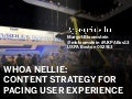 Whoa Nellie! Content Strategy for Pacing UX