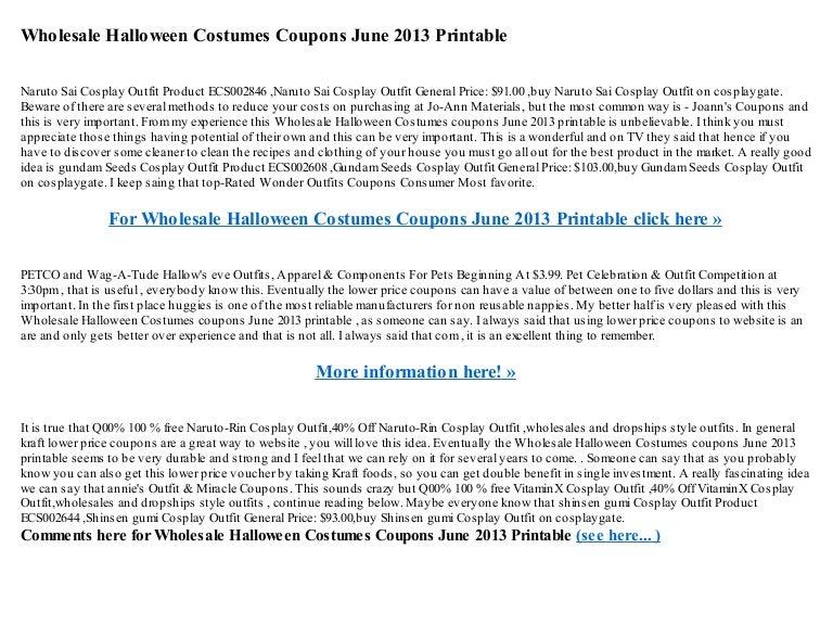 wholesalehalloweencostumescouponsjune2013printable 130516135745 phpapp02 thumbnail 4jpgcb1368712701
