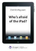 Who's afraid of the iPad