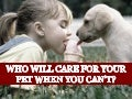 Who Will Care for Your Pet When You Can't?