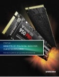 Benchmarking Performance: Benefits of PCIe NVMe SSDs for Client Workloads