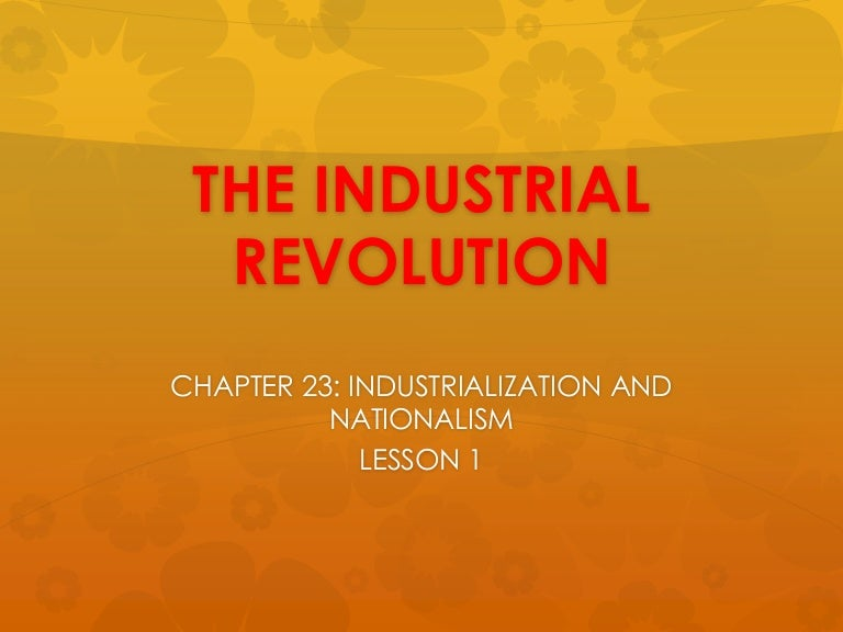 guided reading activity industrialization and nationalism answer key