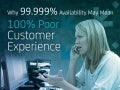 Why 99.999% Availability May Mean 100% Poor Customer Experience