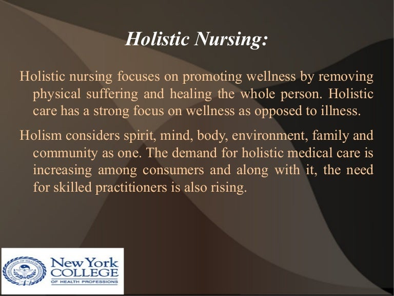 Why Holistic Nursing Care is Important?
