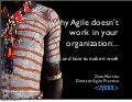Why agile doesn't work in your organization