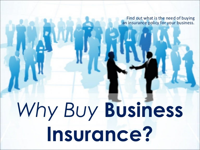 Why buy business insurance