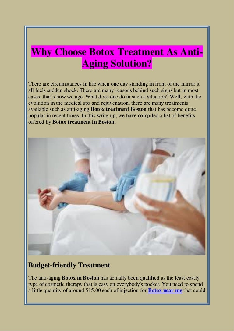 Why Choose Botox Treatment As Anti Aging Solution